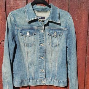 Gap med wash denim jacket